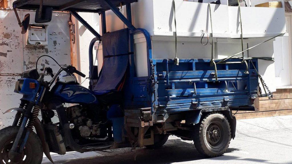 Vận chuyển hàng hóa bằng xe ba gác chở hàng có an toàn không?
